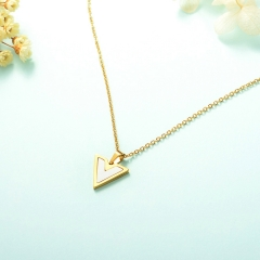 stainless steel cheap enamel necklace    XXXN-0001